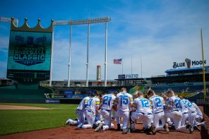 Olathe South Falcon Baseball – On the Field at The K